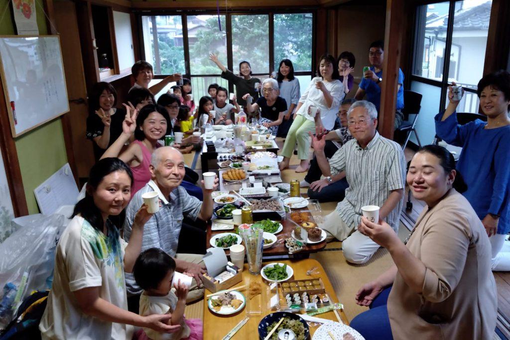 松尾まよか,こま舎,オープンパーティ