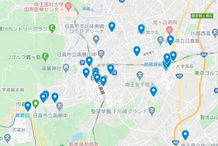 コロナ禍で応援!「日高市お持ち帰りグルメ」掲載店舗をGoogleMapに落としてみました