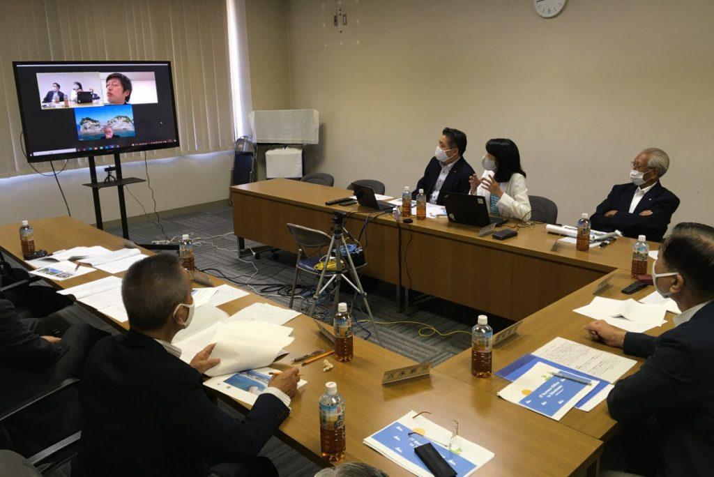 和歌山県白浜町にオンライン視察~町営ITオフィスにサテライトオフィスを誘致!